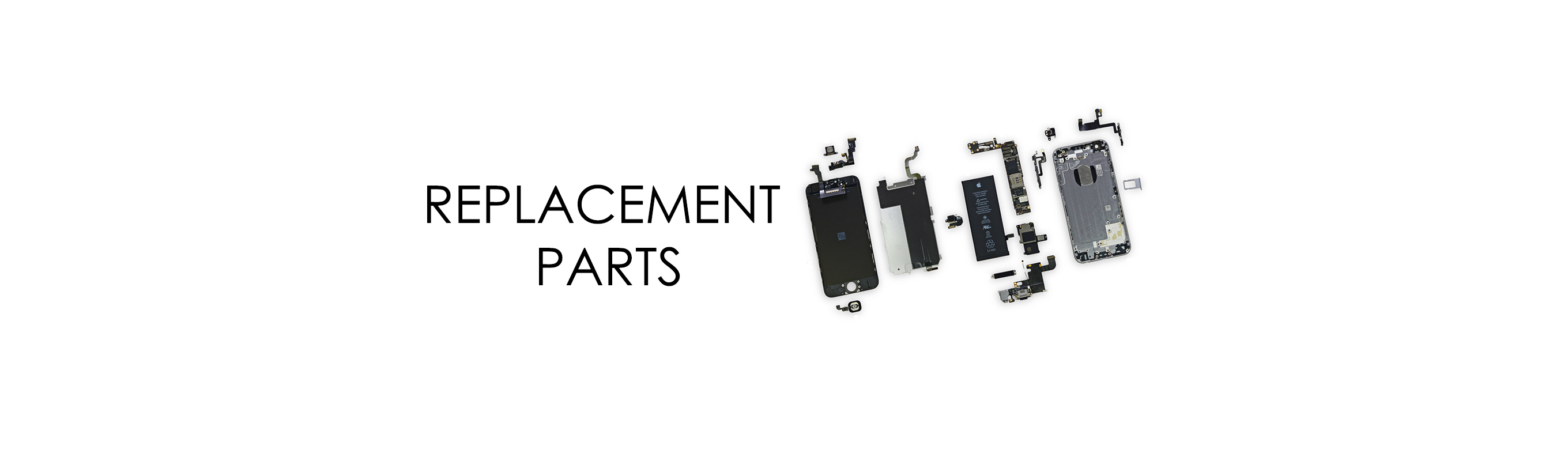 Replacement Parts for iPhone X
