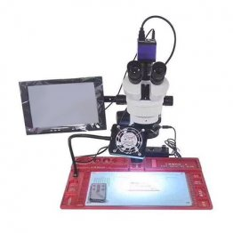 Professional Microscope with WL Soldering Stand