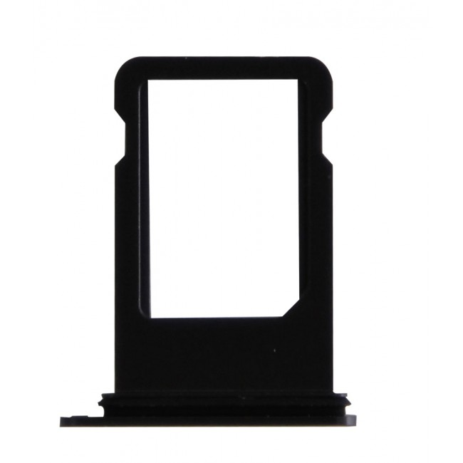 SIM card tray - Bright Black for iPhone 7 Plus
