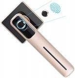 Fingerprint Door Lock, Smart Door Lock, Electronic Door Lock for Office & Home (Rose Gold)