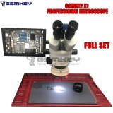 GSMKEY X1 Professional Stereo Microscope with Soldering Stand