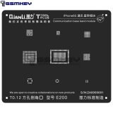 QianLi ToolPlus 3D Black Stencil For iPhone 6s Communication Base Band Module