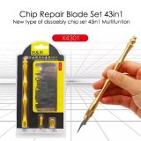 Chip Repair Blade Set 43in1 disassembly Chip Set Titanium Alloy Handle