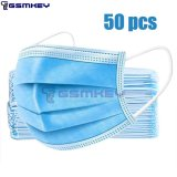 50 PCS Disposable Masks 3 Layers Protection Masks