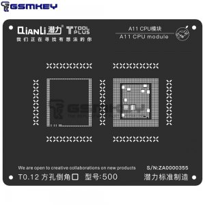 QianLi ToolPlus 3D Black Stencil For A10 CPU Module