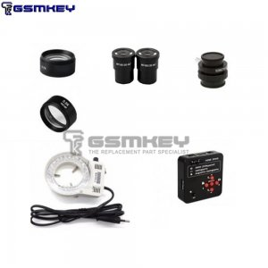 Profesyonel GSMKEY Stereo Microscope for Reparing Mobile Phone (SM05x & SM07x Include)