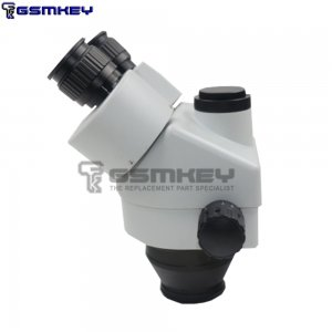 SZM7045-STL2 DOUBLE-ARM BOOM TRINOCULAR STEREO ZOOM INDUSTRIAL MICROSCOPE WITH LED LIGHTS