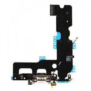 Dock connector and headphone jack flex cable - White for iPhone 7 Plus