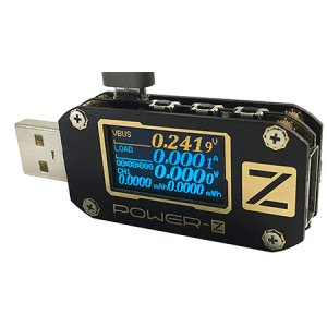 PowerZ USB Type A & C PowerAmp Meter KM001 ( Has DATA LOGGING with EASY .CSV OUTPUT and PC SOFTWARE )