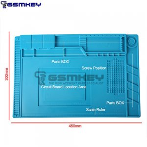 Repair Mat Soldering Mat Maintenance Station Magnetic Heat Insulation Silicone Kaisi S-160