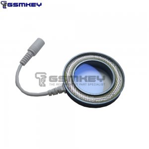 SS-033C 2 In 1 LED Microscope Light USB Adjustable Round Lamp UV Oil Smoke Proof Mirror for Phone BGA Repair Lamp