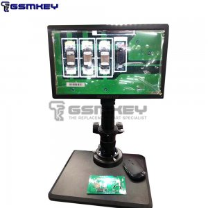 Full HD 11.6 inch integrated display HDMI camera Microscope Measuring 10x-180X Magnifier Phone Repair Blade Detection